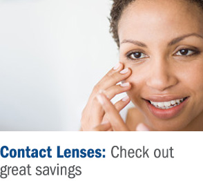 Contact lenses: check out great savings