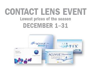 Dec 2016 Contact Lens Event