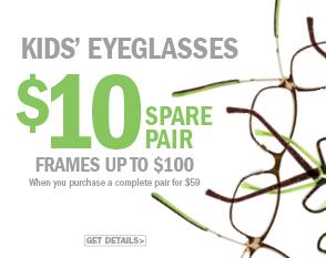 Kid's Eyeglasses $10 spare a pair