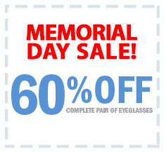 60% OFF for Memorial Day